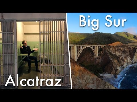 Alcatraz, Silicon Valley, and Big Sur! | Evan Edinger Travel Vlogger