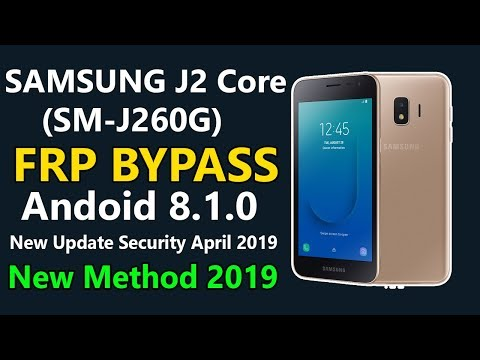 Samsung J2 Core Bypass frp/Remove Google Account Lock New Method 2019 | New  Update 2019