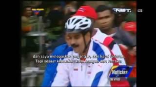 NET24 - Presiden Venezuela Terjatuh Dari Sepeda