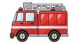 Fire Trucks Responding for Children Siren Song for Kids Engines Ambulance Sound Rescue Police Videos