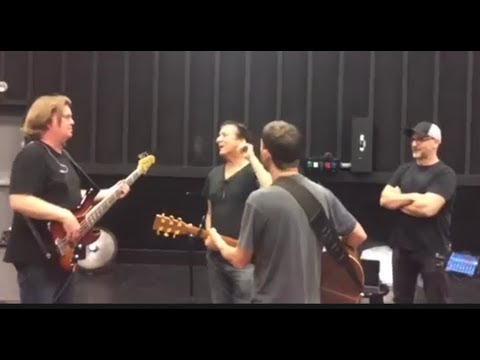 Steve Perry Is Back...Rehearsing!!!