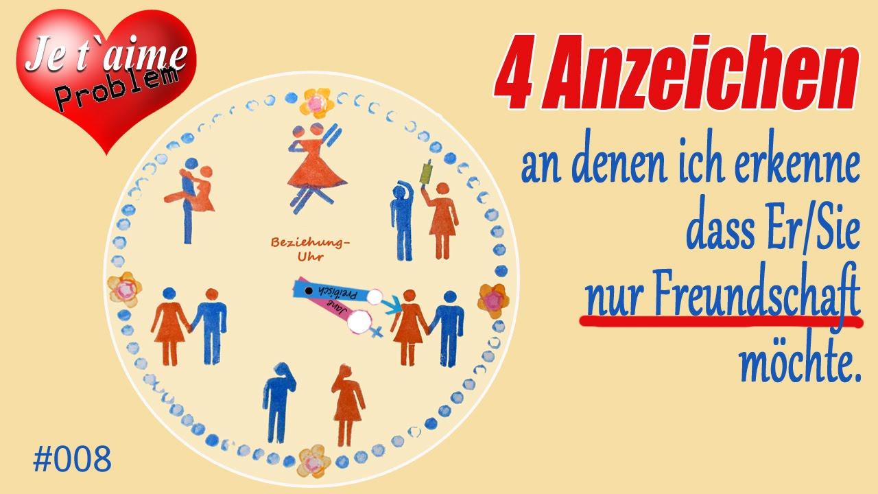 4 Zeichen Das Sieer Nur Freundschaft Möchte Jtp 008 Youtube