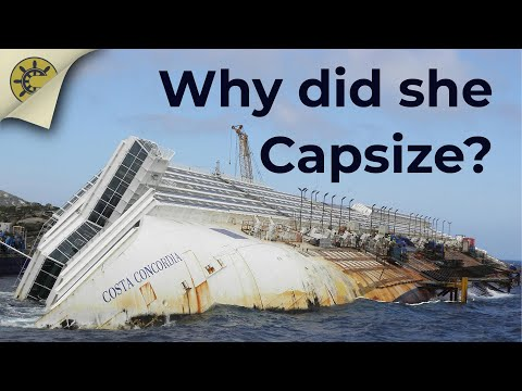 WHY DID COSTA CONCORDIA CAPSIZE? - Explaining the ship's stability using the official report
