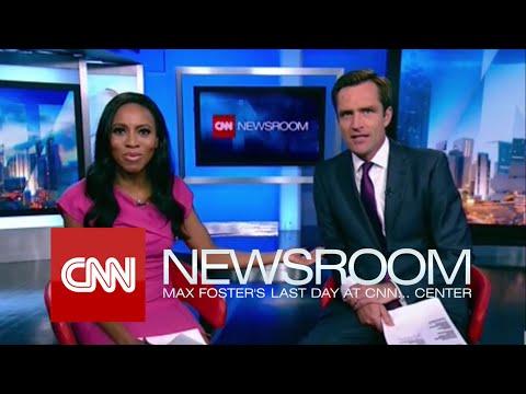 CNN International: 'CNN Newsroom' - Max Foster's Last Day at CNN... Center [071615]