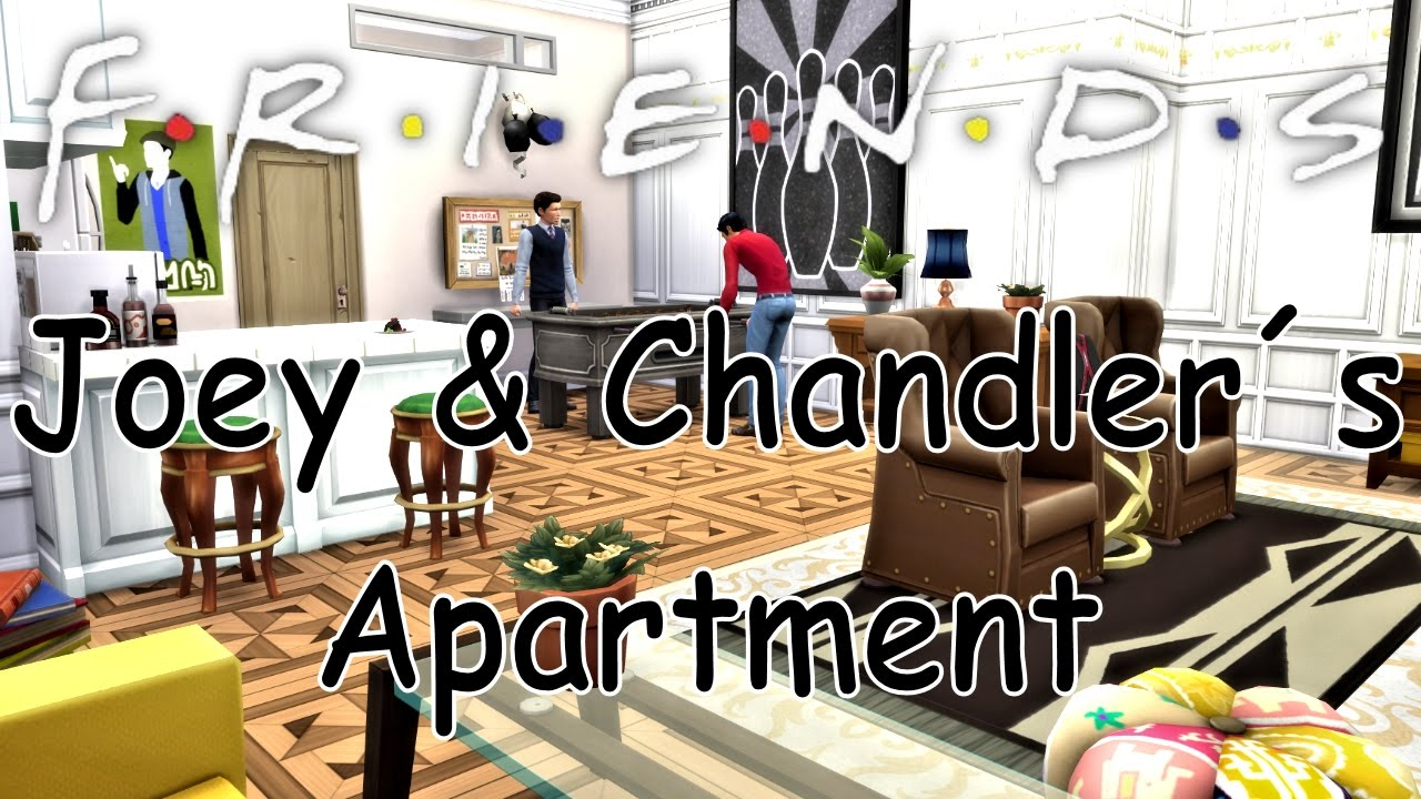 The Sims 4 Friends Joey Chandler S Apartment