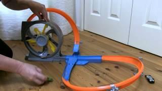 HotWHeeLs  TRACK SET Turbo twister / ターボツイスター