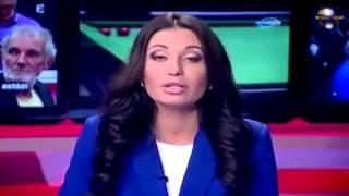 Ведущая новостей в прямом эфире удивила всех телезрителей своим выступлением в вечерних новостях.