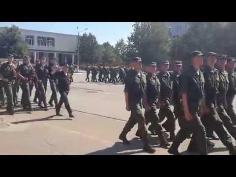 190я Военная Школа Поваров г. Наро-Фоминск Присяга 26.07.2015 (2 и 3 роты)