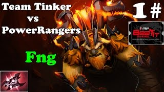 Dota 2 - Power Rangers vs Team Tinker 1# : Highlights - MSI BEAT AT 2014