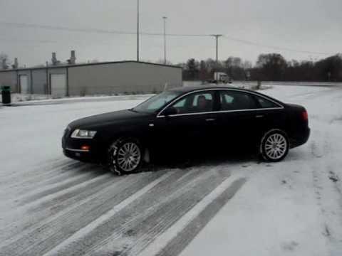 Audi A6 C6 Quattro on snow - YouTube C Audi A Black on audi matte blue vinyl, audi s4, stanced audi s6 c6, audi a2, 2006 a6 c6, audi stretch and poke,