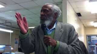 Dick Gregory at the Freedom