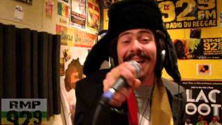 Nico Faya Live Listen My Soul @ Radio Mille Pattes (RMP) 2013