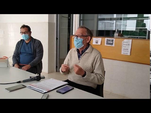 """Covid-19: """"Hoy el Hospital Suchón realizó 12 hisopados en 20 minutos"""""""