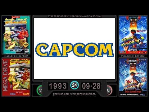 Sega Genesis: Evolution of All Capcom Games