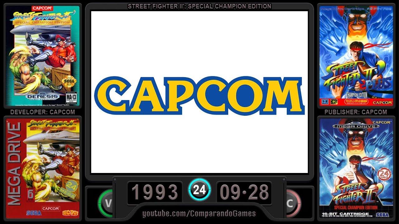 Sega Genesis Evolution Of All Capcom Games Youtube