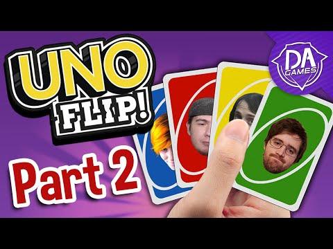 SEAN'S A LOSER! | UNO FLIP! (feat. DACrew) Part 2 | DAGames |