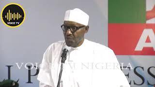 Just In: What Buhari Said At APC Emergency Meeting In Abuja