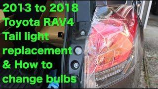TOYOTA HIGHLANDER 2014 2015 2016 INNER TAILLIGHTS TAILGATE LAMP TAIL LIGHT PAIR