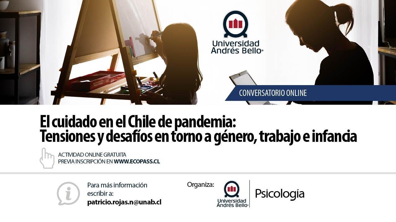 Conversatorio. El cuidado en el Chile de pandemia