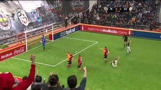 Ayhan Akman'ın Golü | 4 Büyükler Salon Turnuvası | Galatasaray 1 - Fenerbahçe 0 | (02.01.2016)
