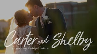 SHELBY & CARTER // THE ESTATE AT NEW ALBANY // WEDDING DAY HIGHLIGHT VIDEO
