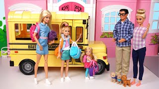 Barbie Dreamhouse Adventures Family  Packing for Summer Camp - Titi Toys