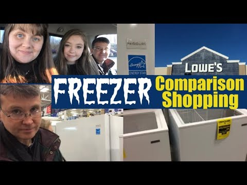 Freezer Comparison Shopping with Rick and Briana