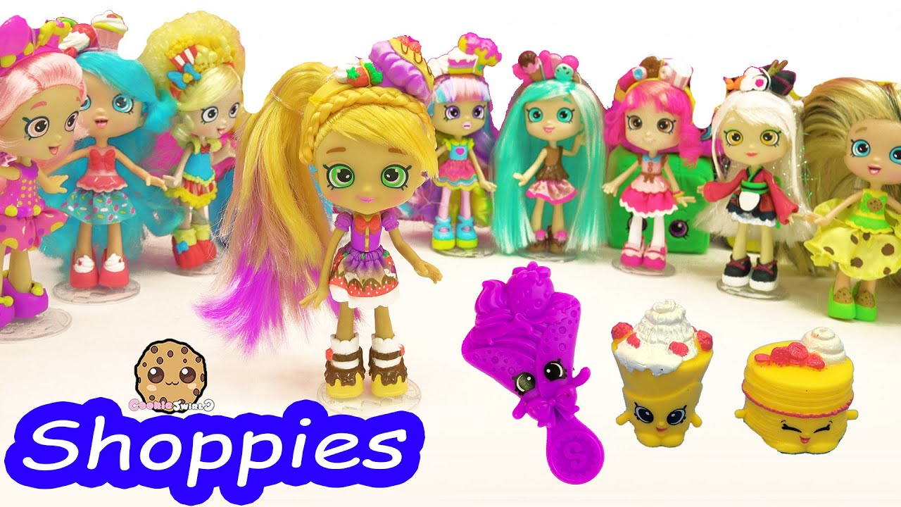 Shopkins Shoppies Pam Cake Doll With Season 5 Exclusives