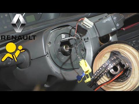 Замена шлейфа руля Airbag Renault