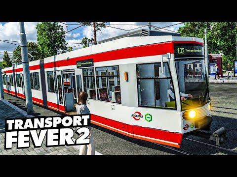 TRANSPORT FEVER 2 #12: Neue Straßenbahnen Für BOCHUM | Gameplay Der Eisenbahn-Simulation