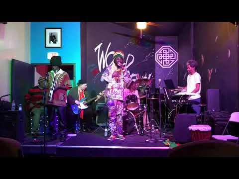 JAH WARRIOR BY KOJO LION #BLACK #HISTORY #MONTH AFRICAN FASHION MEET LIVE REGGAE MUSIC /