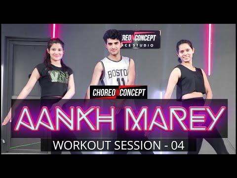 Aankh Marey | Simmba | Online Bollywood Workout | Choreo N Concept Dance Studio | Gurgaon Sector 45