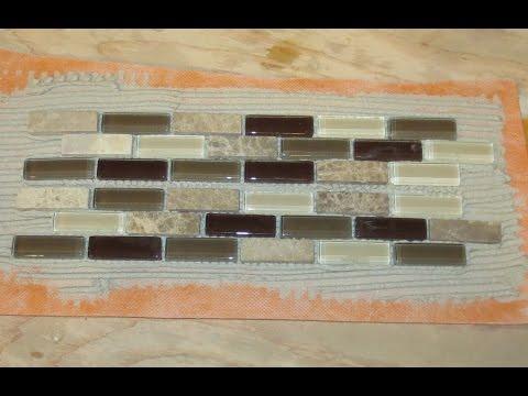 Tip for making a glass tile border