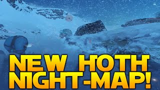 Star Wars Battlefront: TWILIGHT ON HOTH GAMEPLAY! (New night-map)