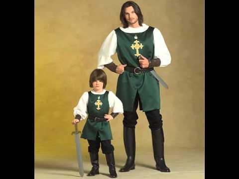 knight costume pattern kids & knight costume pattern kids - YouTube