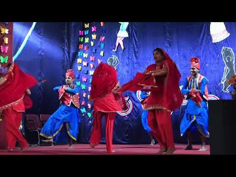 Best bhangra dance performed by college of veterinary science and A.H. mhow