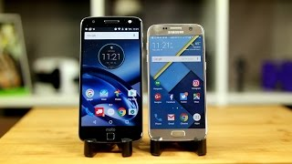 Moto Z vs Galaxy S7: The better jack of all trades?