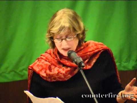Kika Markham PSC Patron and Actress  Gaza Letters Remembering Israel's Massacre In Gaza