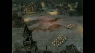 Warhammer: Mark of Chaos PC Games Gameplay - Chaotic
