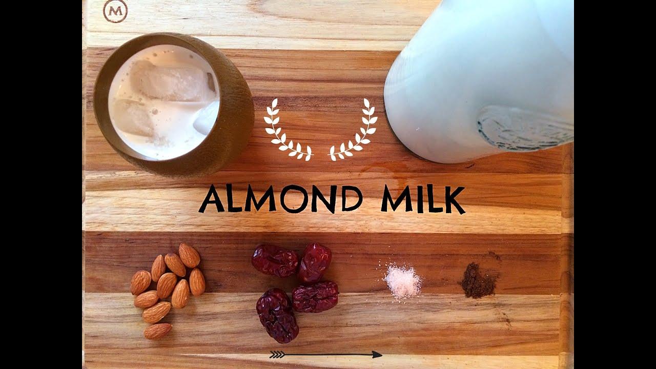 Almond milk / Vegan - YouTube