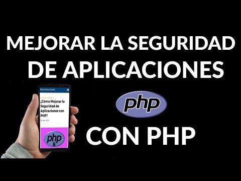 Cómo Mejorar la Seguridad de Aplicaciones con PHP
