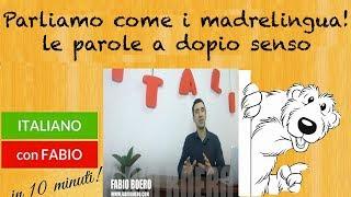 LEZIONE DI ITALIANO! PARLIAMO COME I MADRELINGUA! FABIO BOERO