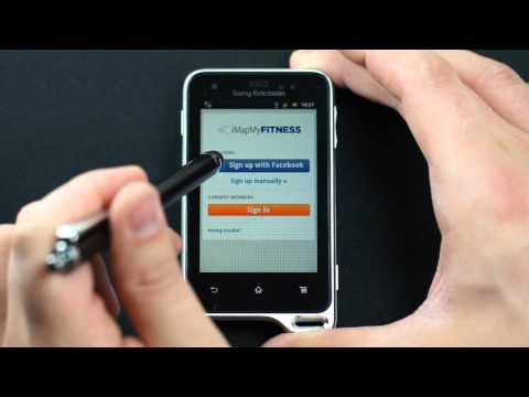 Sony Ericsson Xperia active - appearance, menu - part 1