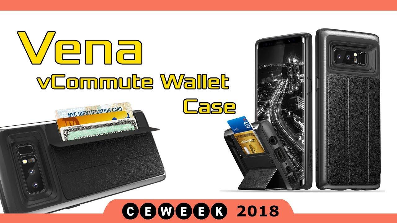 promo code 2ff9d 8ea74 Vena vCommute and vArmor Wallet Case (CE Week NY 2018)