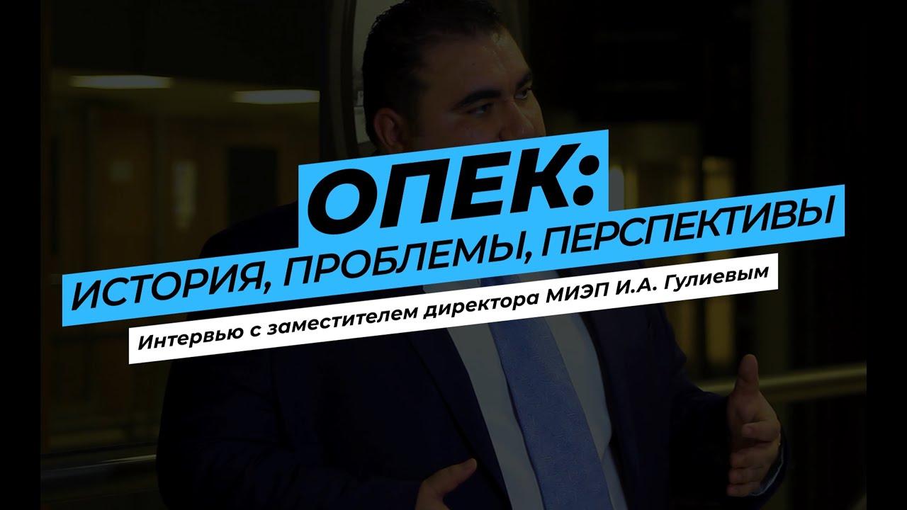 Игбал Гулиев – ОПЕК: история, проблемы и перспективы