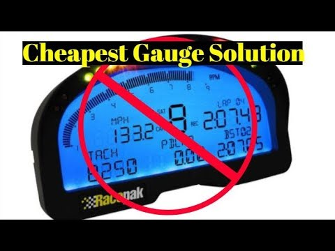 The Cheapest Gauges For Your LS Swap!!!