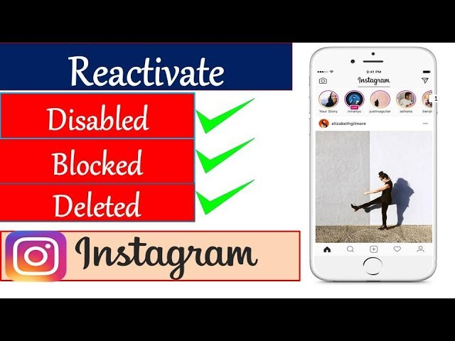 10 21 MB] How to Reactivate Disabled Instagram Account 2019 | Must