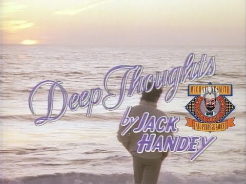 Deep Thoughts by Jack Handey - Disneyland from Dr. Duck's Super Secret All-Purpose Sauce