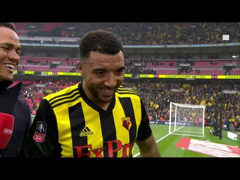 """""""I'd like a new deal, thank you!"""" Troy Deeney reacts to amazing FA Cup semi final comeback"""