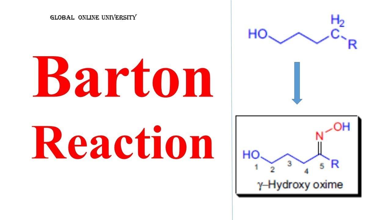 Barton Reaction